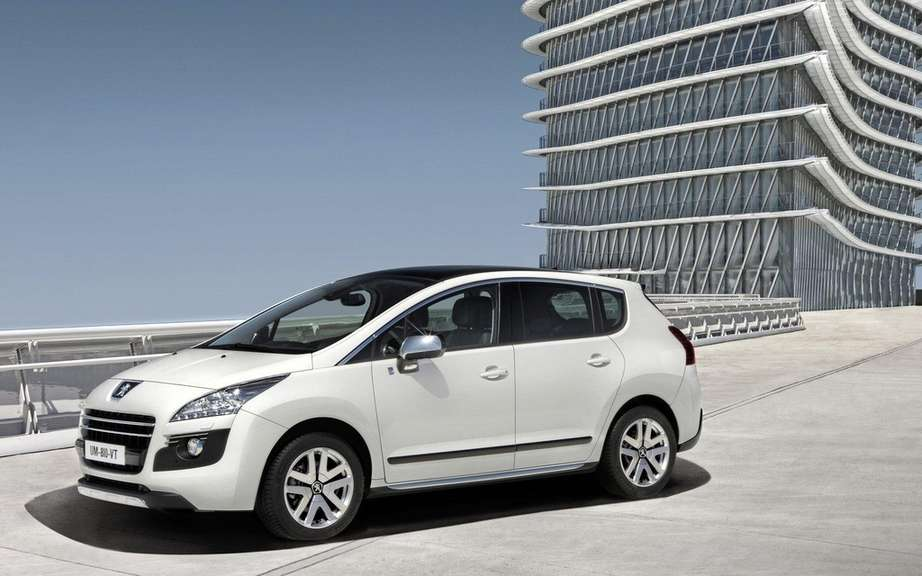 Peugeot again distinguishes Germany: Oko Globe (Ecological Globe) for the 3008 HYbrid4 picture #1