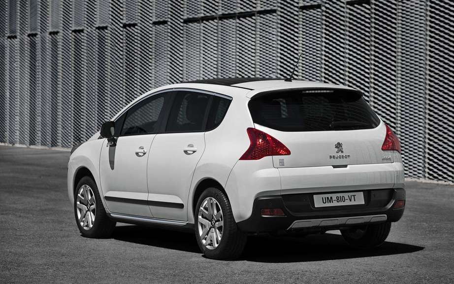 Peugeot again distinguishes Germany: Oko Globe (Ecological Globe) for the 3008 HYbrid4 picture #2