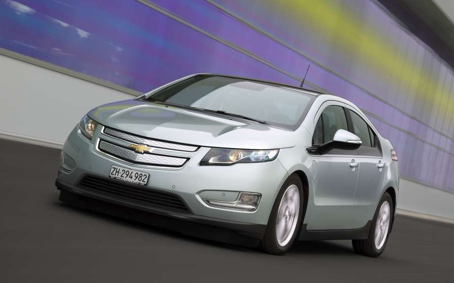 2012 Chevrolet Volt: It receives the price Ecobest 2011