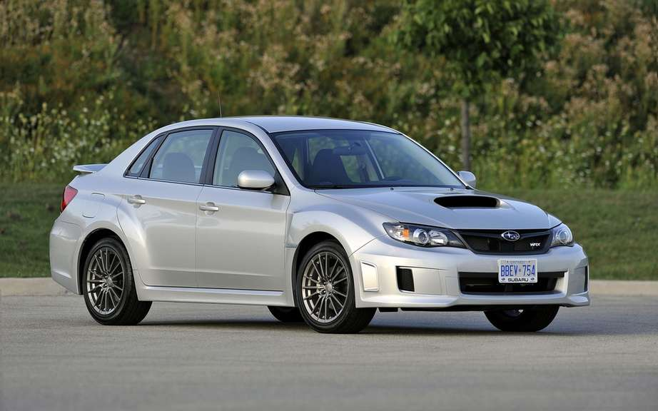 Subaru Impreza WRX and WRX STI 2012: Unveiling of prices and options packages