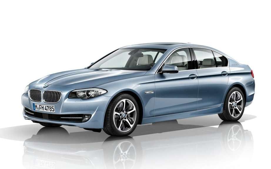 BMW ActiveHybrid 5: The concept becomes reality
