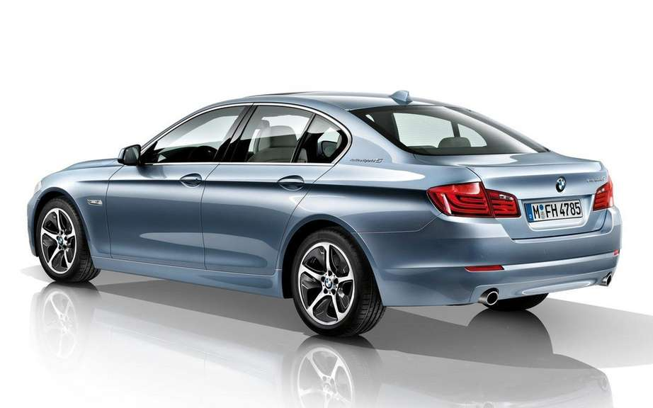 BMW ActiveHybrid 5: The concept becomes reality picture #2