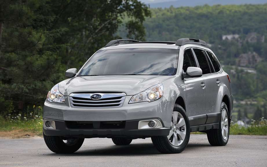 Subaru Outback 2012: The price of the icon