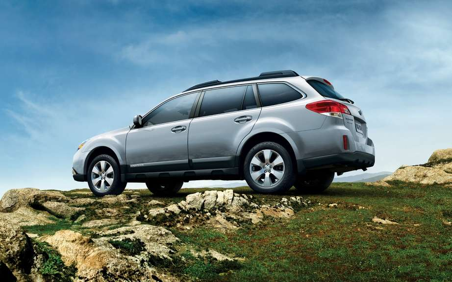 Subaru Outback 2012: The price of the icon picture #2