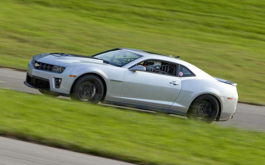 Chevrolet Camaro ZL1 2012: The racier ever offered picture #2
