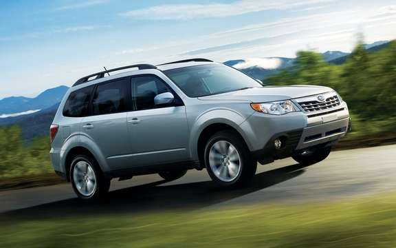 2012 Subaru Forester: Prices are revealed
