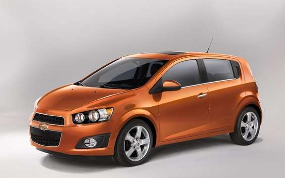 2012 Chevrolet Sonic: A starting price of $ 14,495