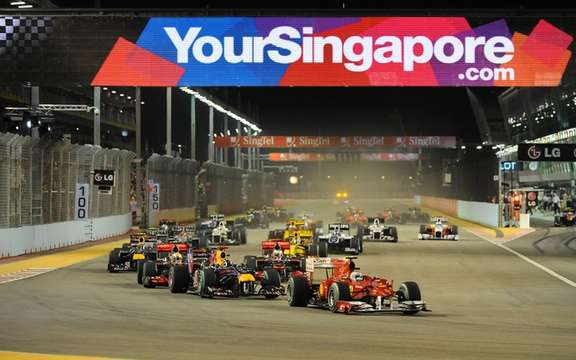 F1 Singapore Night and NASCAR in New Hampshire!