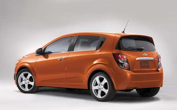 2012 Chevrolet Sonic: A starting price of $ 14,495 picture #2