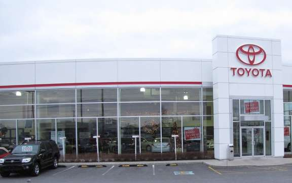 The quebecois Toyota dealers combine a The Air