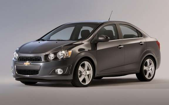 2012 Chevrolet Sonic: A starting price of $ 14,495 picture #3
