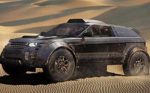 Range Rover Evoque: Three vehicles registered for the 2012 Dakar
