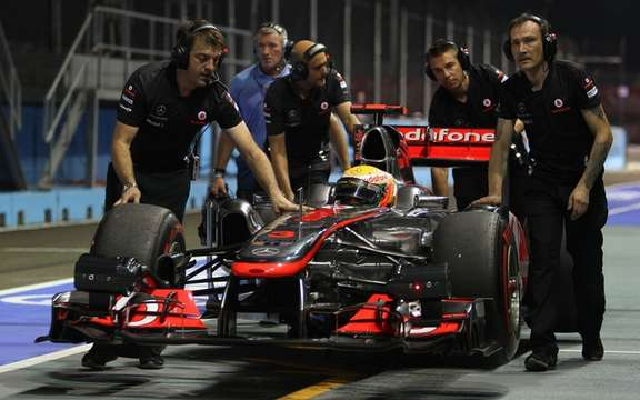 Of rules to limit working time in Formula 1!