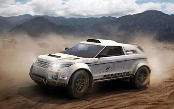 Range Rover Evoque: Three vehicles registered for the 2012 Dakar picture #2