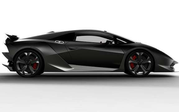 Lamborghini Sesto Elemento: Confirmed Production picture #2