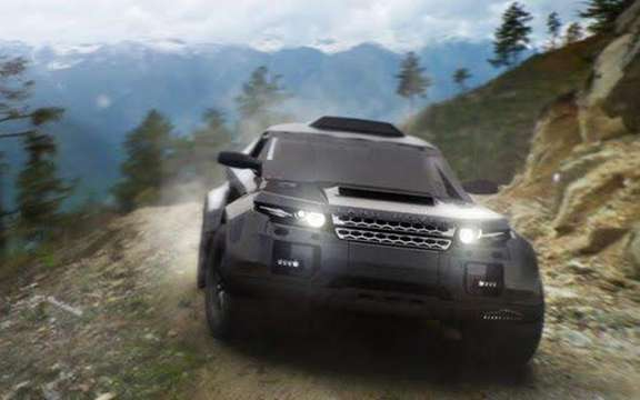 Range Rover Evoque: Three vehicles registered for the 2012 Dakar picture #3
