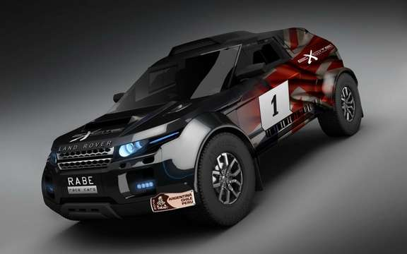 Range Rover Evoque: Three vehicles registered for the 2012 Dakar picture #4