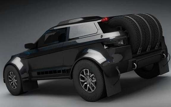 Range Rover Evoque: Three vehicles registered for the 2012 Dakar picture #5