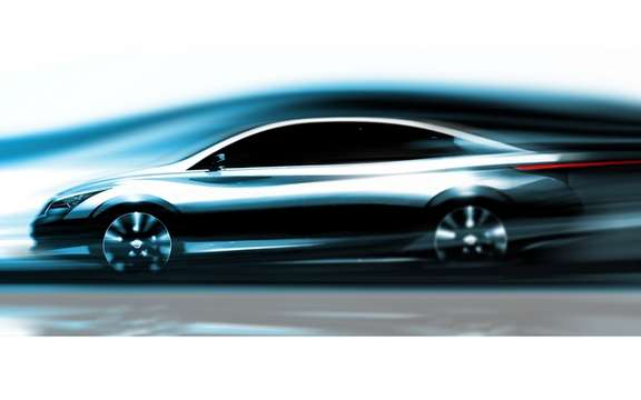 Infiniti presents a new sketch of its future vehicle Zero-Emission