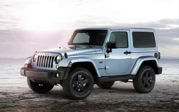 Jeep Wrangler Arctic: She did not shy