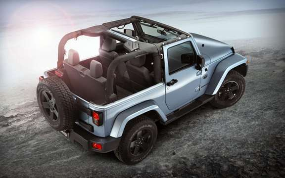 Jeep Wrangler Arctic: She did not shy picture #2