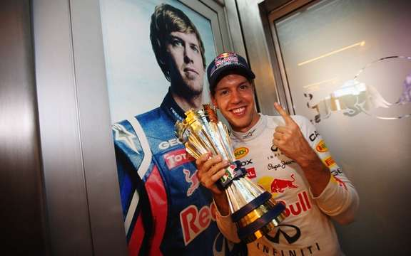 Sebastian Vettel has no F1 world title