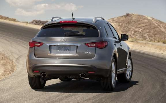 2012 Infiniti FX: More than a month wait picture #2