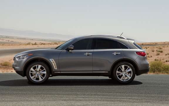 2012 Infiniti FX: More than a month wait picture #3