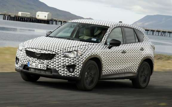 Mazda CX-5 2012: the most revealing pictures picture #4