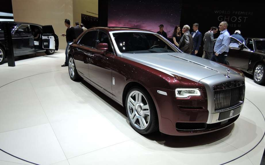 Rolls Royce-Ghost version 1001 Nights Edition