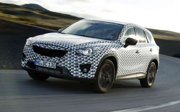 Mazda CX-5 2012: the most revealing pictures picture #6