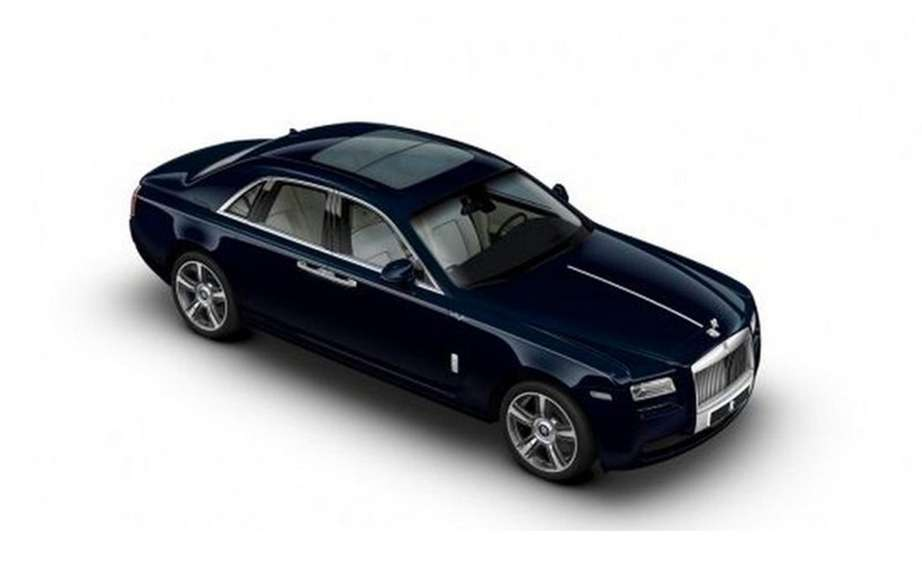 Rolls Royce-Ghost version 1001 Nights Edition picture #2