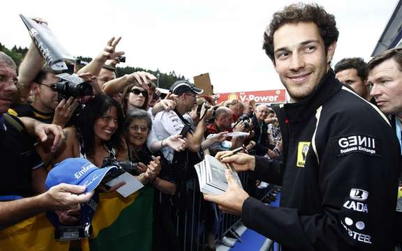 Bruno Senna, the hapless hero of Spa