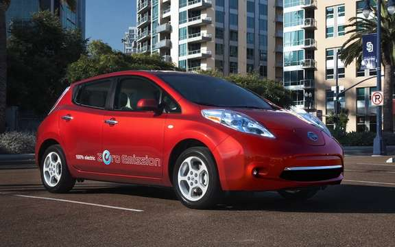 Nissan Canada has already completed his first book orders for LEAF