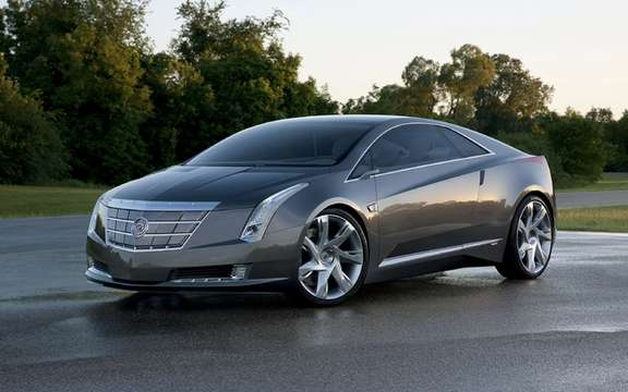 Cadillac ELR: Luxury Coupe has electric propulsion