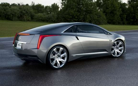Cadillac ELR: Luxury Coupe has electric propulsion picture #2