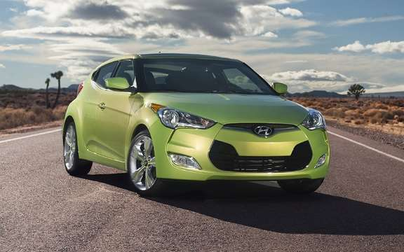 2012 Hyundai Veloster: the price is unveiled picture #1