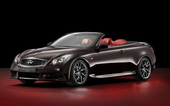 Infiniti IPL G Convertible 2013: After the cut, here is the convertible