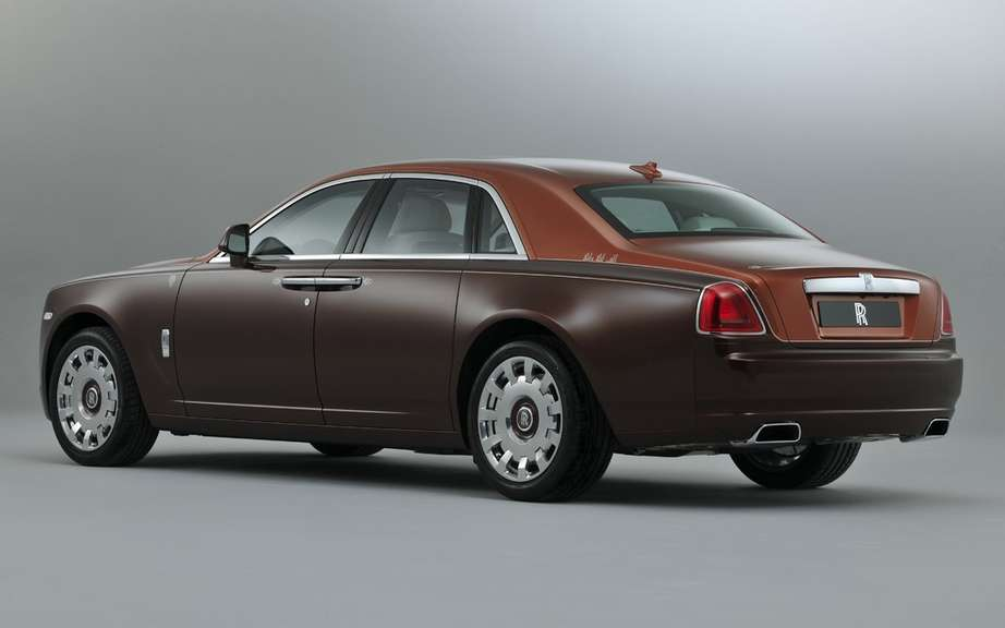 Rolls Royce-Ghost version 1001 Nights Edition picture #6