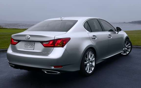 Lexus GS 2013: Much more aggressive forms picture #2