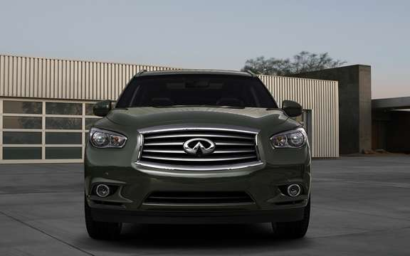 Infiniti JX Concept: Bringer of the model series has come picture #4