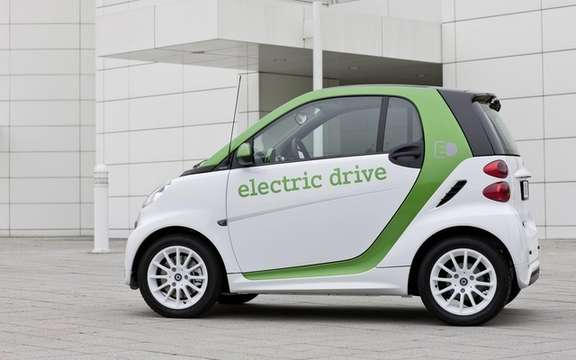 smart fortwo electric: Deja 3rd generation picture #2