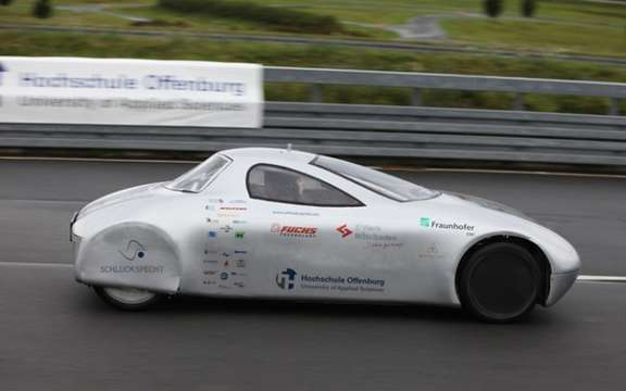 Schluckspecht EV: 1,631.5 kilometers on a single charge