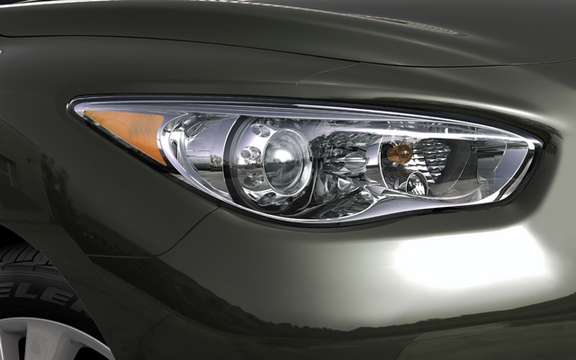 Infiniti JX Concept: Bringer of the model series has come picture #5