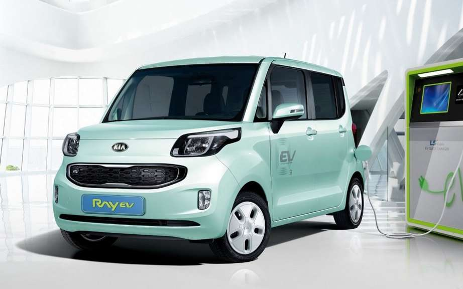 Kia Ray EV: first electric car South Korea