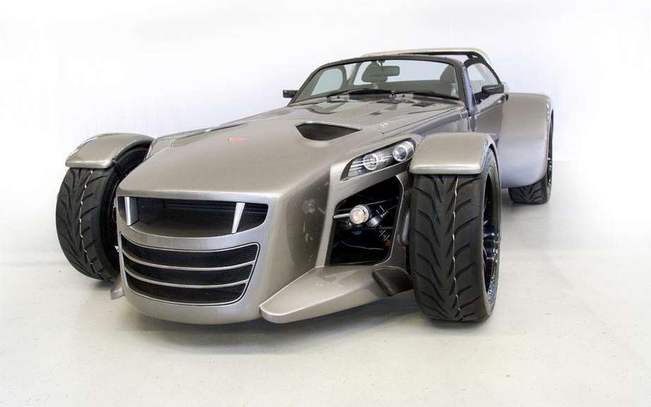 Donkervoort D8 GTO: The engine of the TT RS
