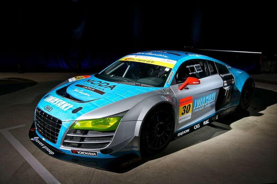 Audi lms ultra r8