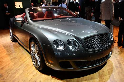 Bentley Continental GTC #8575017