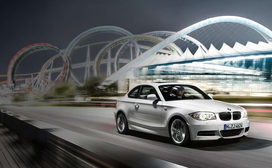 BMW 1 Series Coupe #7472343