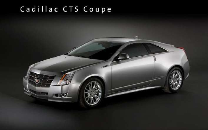 Cadillac CTS Coupe #8575172
